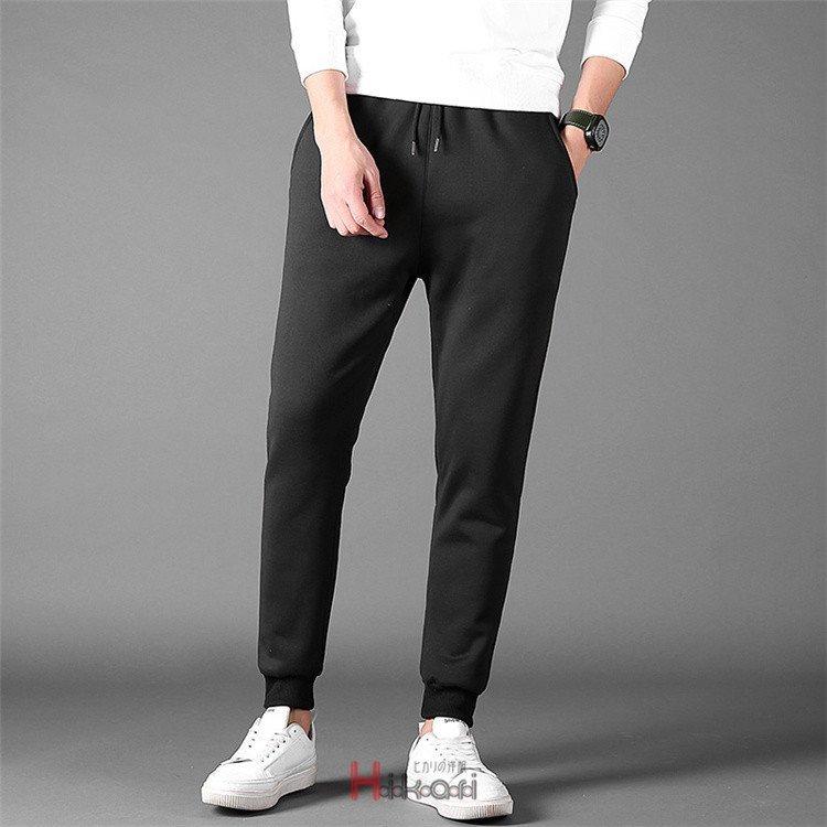 パンツ メンズ テーパードパンツ リブパンツ ジョガーパンツ ジョガーパンツ メンズ 裏起毛 テーパードパンツ パンツ スリムパンツ リブ