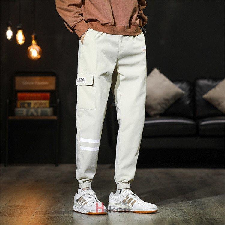 テーパードパンツ メンズ ボトムス イージーパンツ ズボン テーパードパンツ メンズ スキニーパンツ パンツ ボトムス ジョガーパンツ リ