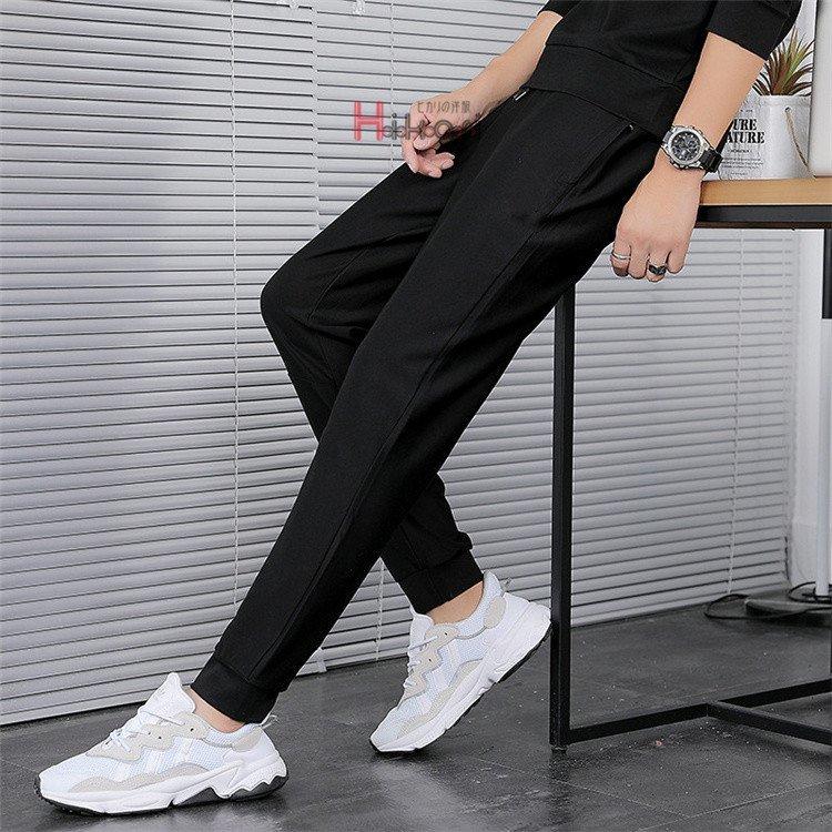 パンツ メンズ リブパンツ スキニーパンツ 秋服 スポーツ リブパンツ ジョガーパンツ メンズ スリムパンツ スキニーパンツ パンツ 無地