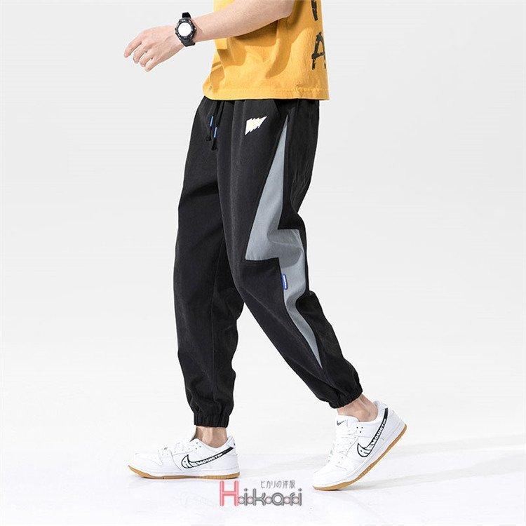 テーパードパンツ メンズ スポーツ カジュアル スキニー スリム テーパードパンツ メンズ リブパンツ イージーパンツ パンツ ボトムス カ