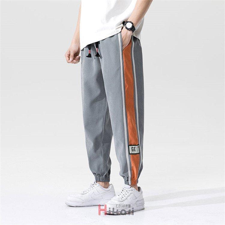 テーパードパンツ メンズ リブパンツ パンツ ズボン 春服 テーパードパンツ メンズ ジョガーパンツ パンツ ボトムス ロングパンツ イージ