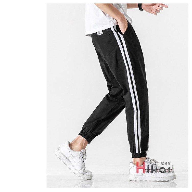 ジョガーパンツ メンズ サイドライン テーパードパンツ ジョガーパンツ メンズ サイドライン カジュアル スポーツ イージーパンツ ボトム