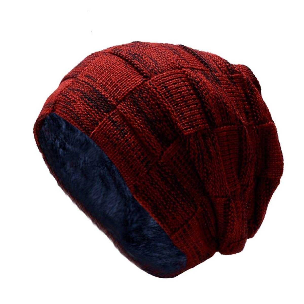 ニット帽 メンズ レディース ニット 帽子 ニットキャップ  裏起毛
