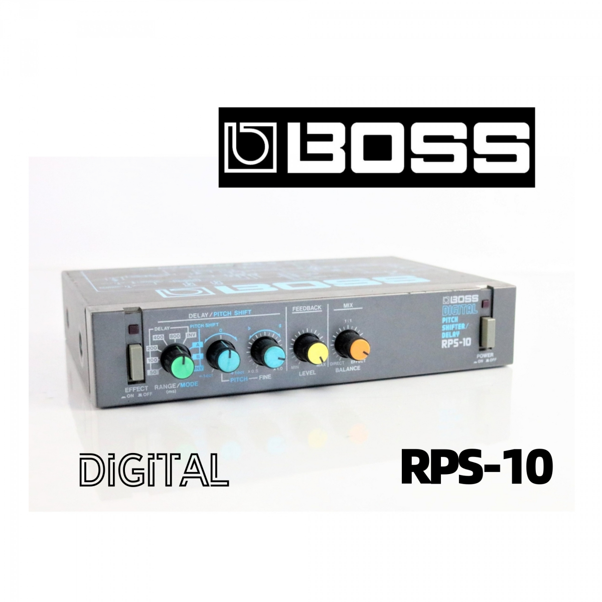BOSS RPS-10 ボス ピッチシフター 本体 DIGITAL PITCH SHIFTER / DELEY FP008FEK84