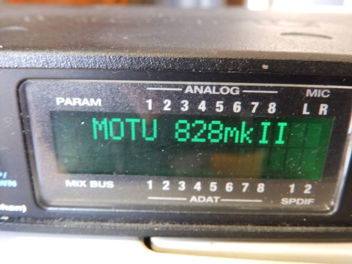 MOTU 828MKⅡ・オーディオインターフェイス_画像2