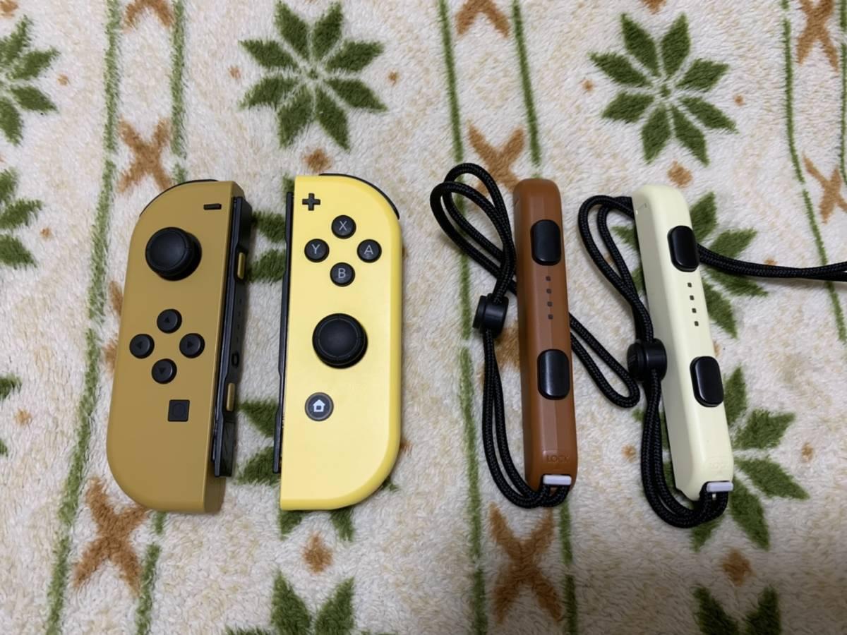 【即決・美品・送料無料】 Nintendo Switch ポケットモンスターLet's Go!ピカチュウ イーブイ Joy-Con ジョイコン ストラップ ポケモン_画像2