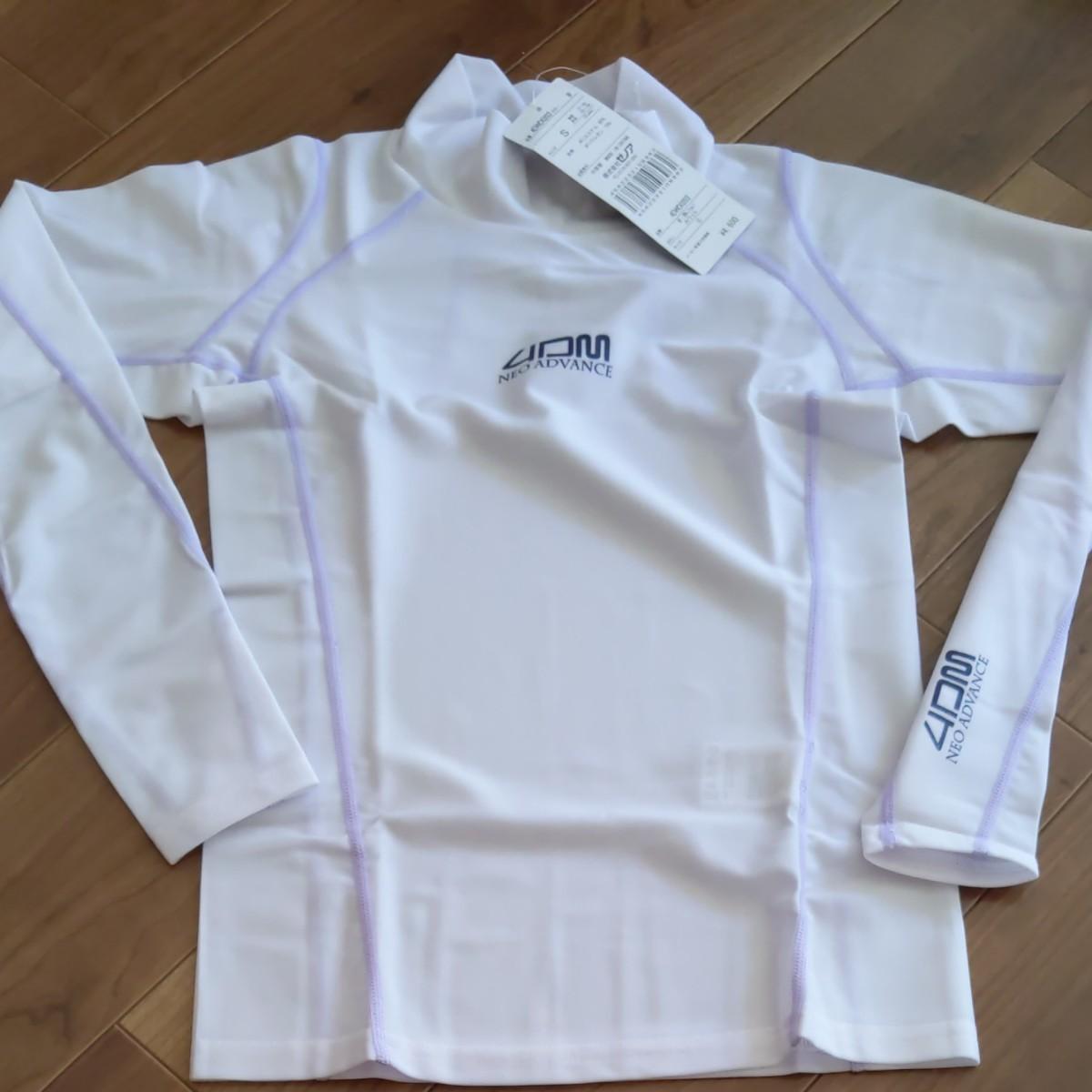 ゼノア 4DM ネオアドバンス 軽量コンプレッションシャツ スポーツウエア トレーニングウェア インナー レディース S ランナー