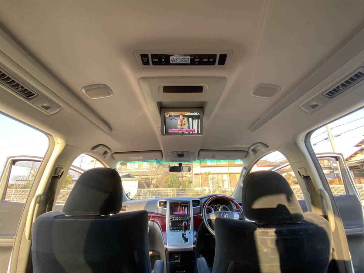 ★【4WD 】 H20年 ヴェルファイア 2.4Z 美車 ★車検令和3年8月迄/MOPナビ/リアエンター/両側パワー/記録簿多数有/機関良好/7人乗 売り切り_画像9