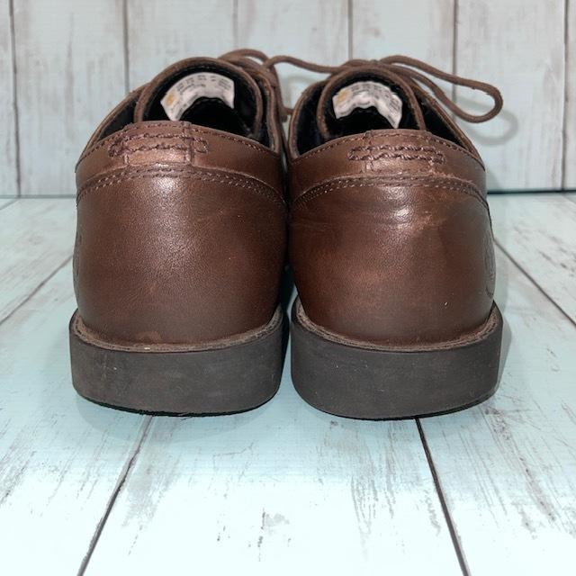 【即決】Timberland ティンバーランド 26cm ウイングチップ 茶 ブラウン 革靴 ビジネスシューズ_画像4