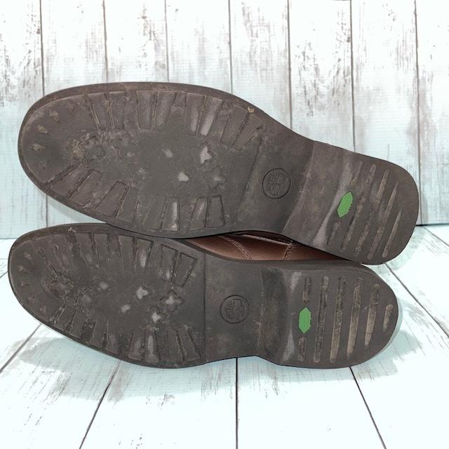 【即決】Timberland ティンバーランド 26cm ウイングチップ 茶 ブラウン 革靴 ビジネスシューズ_画像5