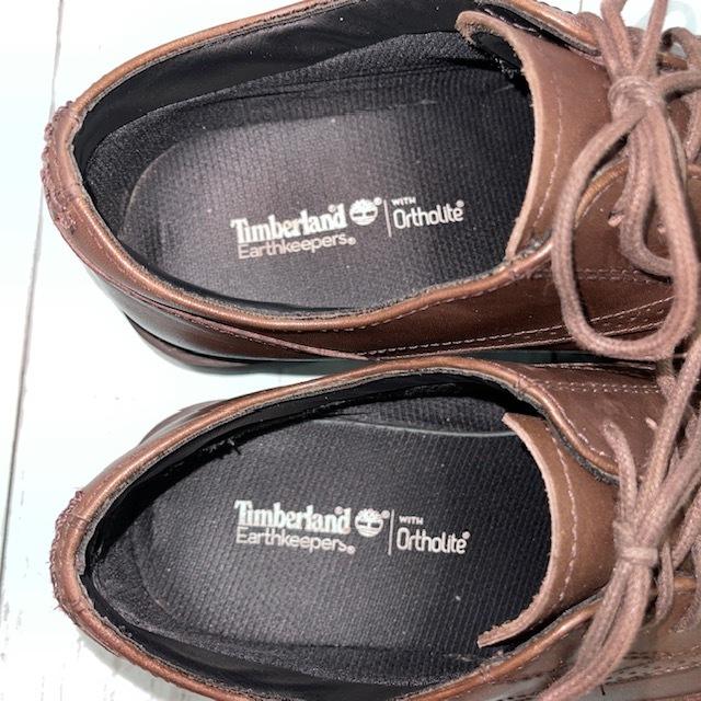 【即決】Timberland ティンバーランド 26cm ウイングチップ 茶 ブラウン 革靴 ビジネスシューズ_画像6