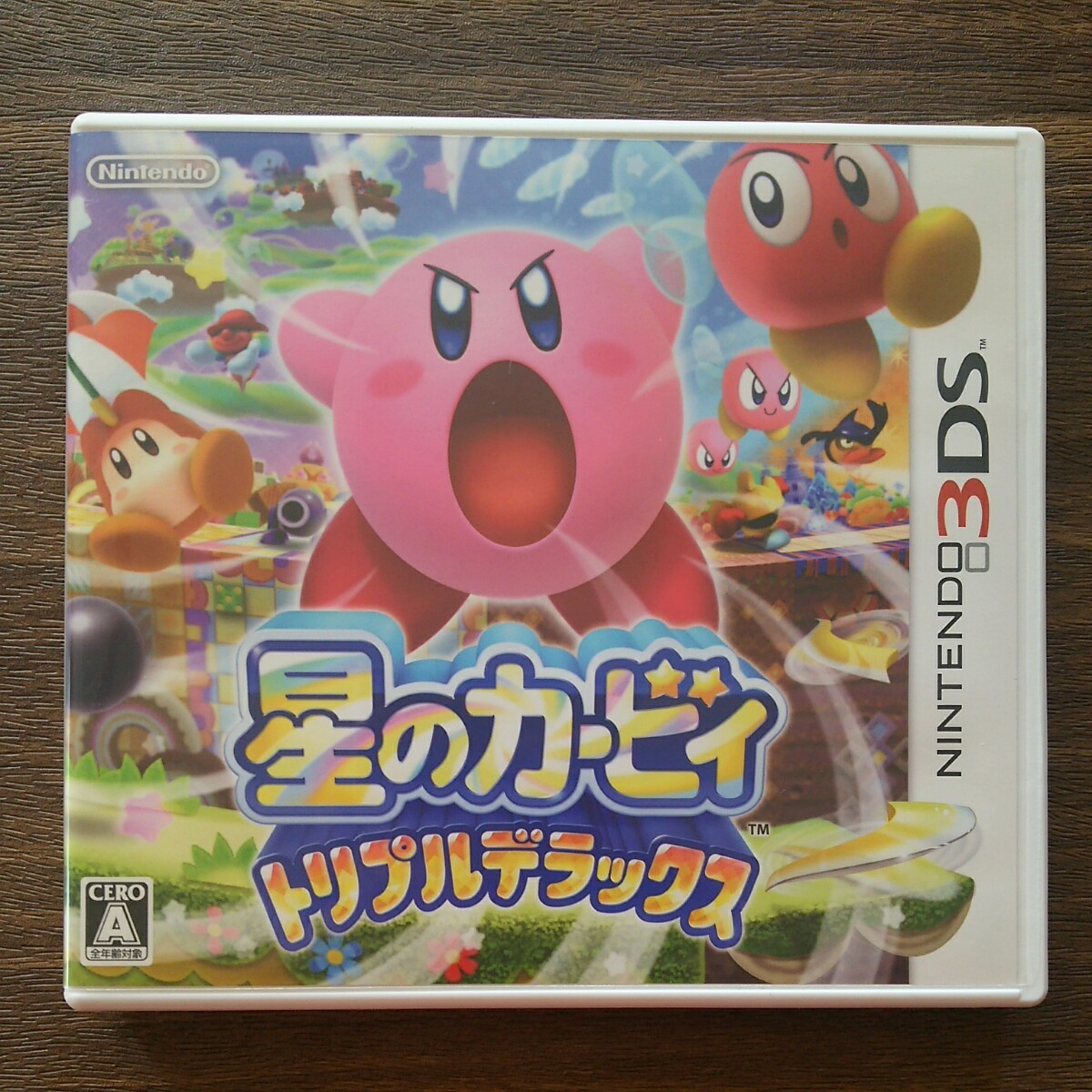 【3DS】 星のカービィ トリプルデラックス