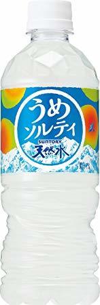 サントリー 天然水 うめソルティ 熱中症対策 540ml ×24本_画像1