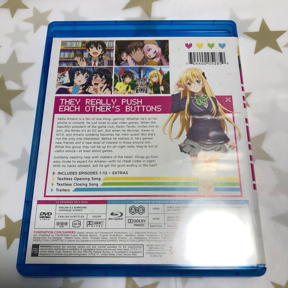 北米版 ブルーレイ 「ゲーマーズ!」BD+DVDセットのBDのみ