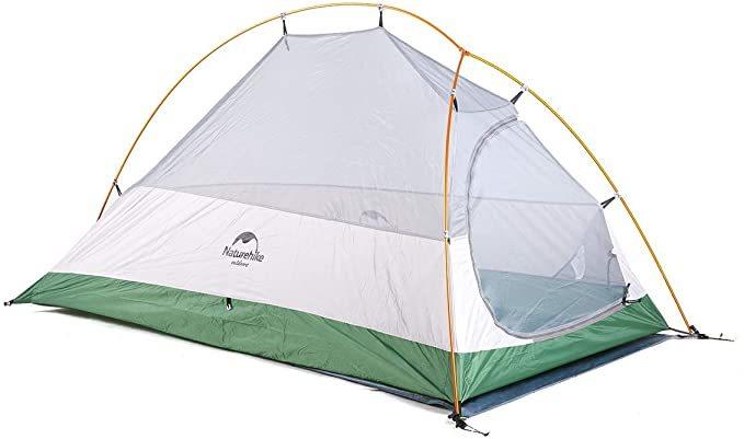 Naturehike ツーリング テント グランドシート 付き / ソロ キャンプ ソロキャン 初心者 キャンパー軽量 コンパクト