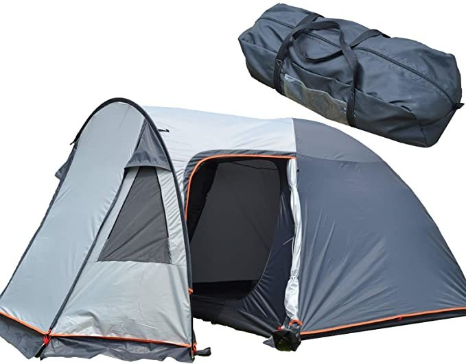 家族 テント 4人用 / ツーリング ソロ キャンプ 2人用 3人用 BBQ 花見 アウトドア 防災