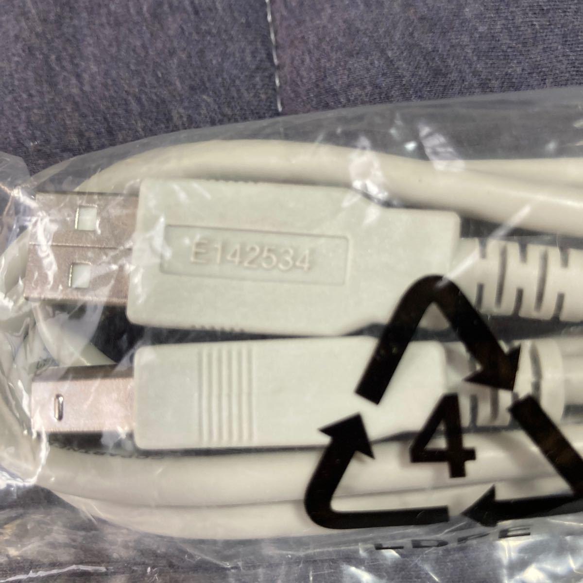 USBケーブル E142534  Part      No.LJ9803001     ブラザープリンター用