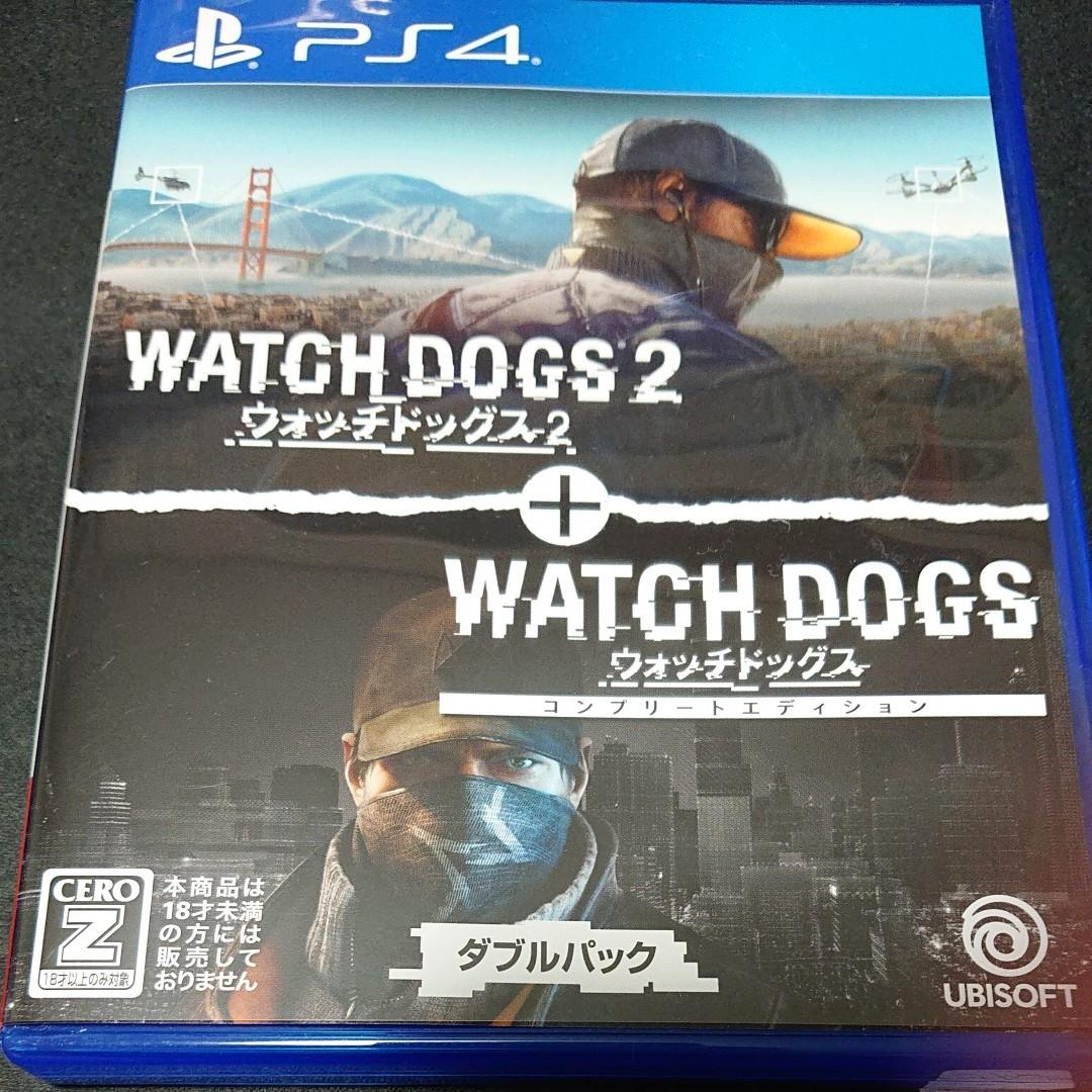 ウォッチドッグス1+2 ダブルパック WATCHDOGS1+2 PS4
