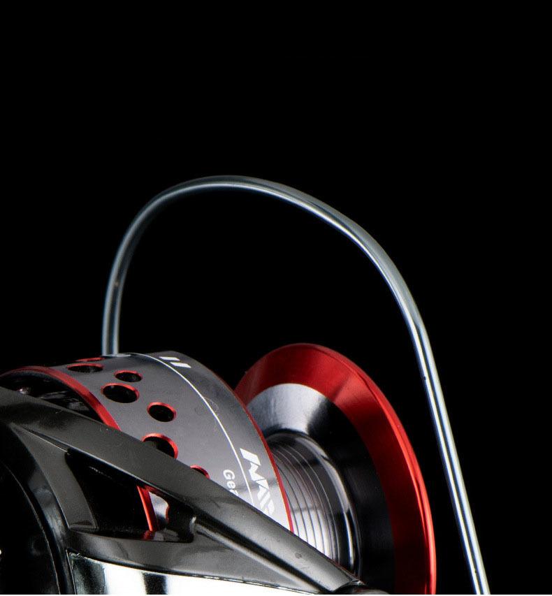 Z151 送料無料 フィッシング リール 釣り スピニングリール 3000番 釣り 5.2:1 湖 川 淡水釣り 海釣り ハンドル左右交換_画像8