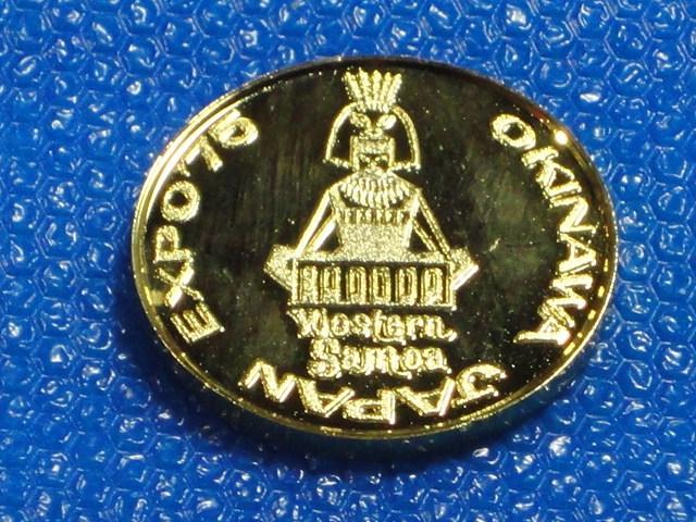 ☆サモア諸島 ・1975年「沖縄国際海洋博覧会」記念メダル☆_画像3