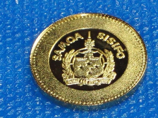 ☆サモア諸島 ・1975年「沖縄国際海洋博覧会」記念メダル☆_画像5