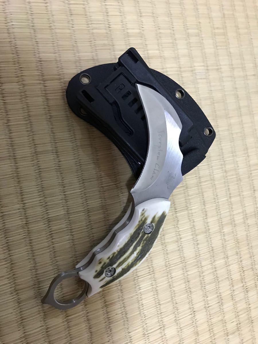JAPAN ウッドハンドル フォールディングナイフ サバイバルナイフ ナイフ BUCK ハンティングナイフ