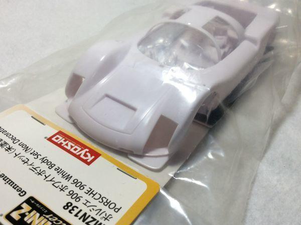 京商 ミニッツ ボディ ポルシェ 906 ホワイトボディとクラシックホイールセット (246GT) Porsche MR03 VE EVO RM mini-z ASC Auto Scale