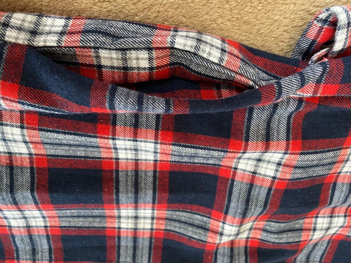 シャツワンピース  ネルシャツ チェックシャツ チェック柄 長袖