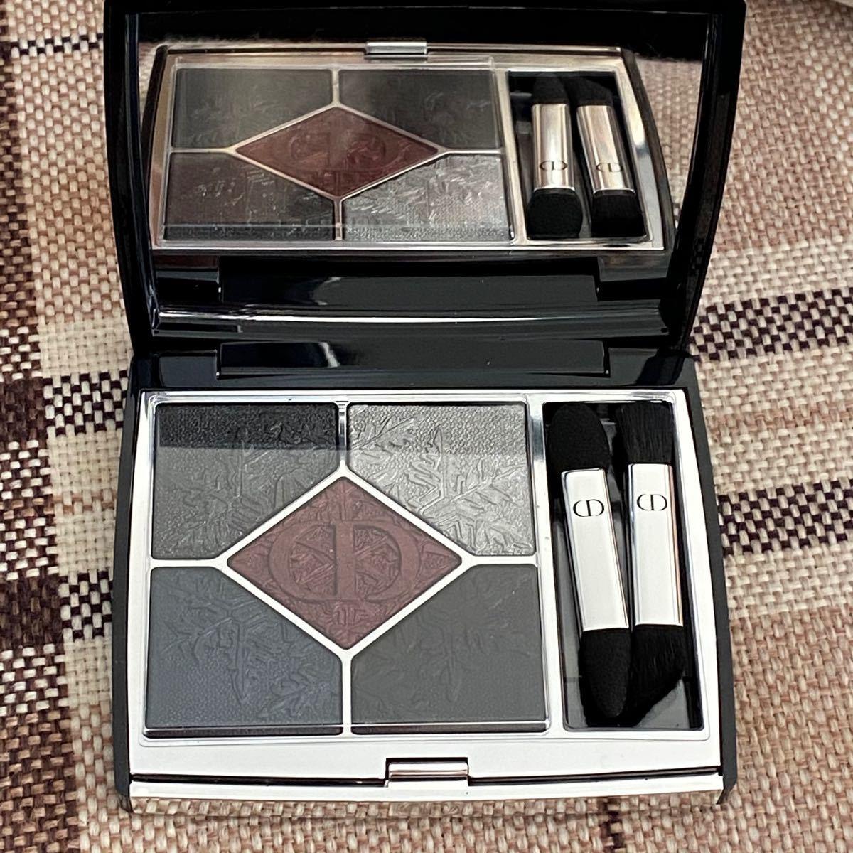 新品 最安値 新作 Dior サンククルールクチュール 089 ブラック ナイト ブラックナイト アイシャドウ 限定 即日発送