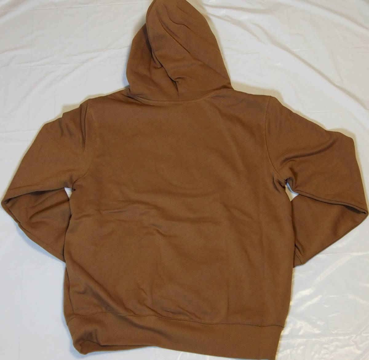【USA購入、未使用タグ付】ノースフェイス メンズ パーカー Mサイズ ブラウン The North Face Boxed In Pullover Hoodie_画像3