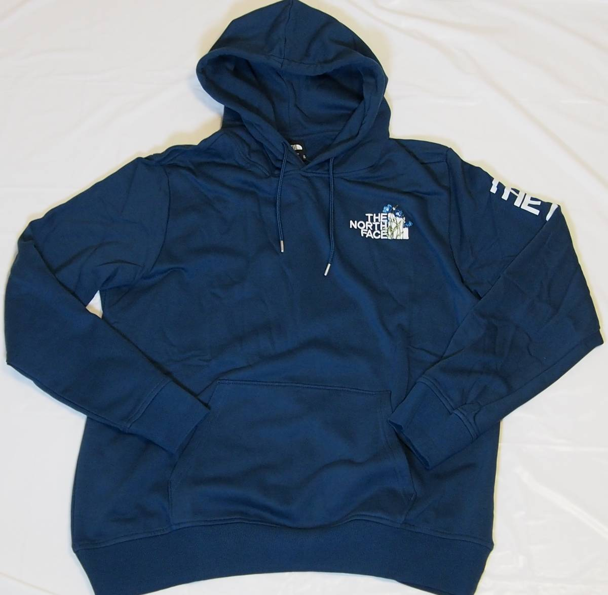【USA購入、未使用タグ付】ノースフェイス パーカー XL ブルー系 The North Face Himalayan Bottle Source Pullover Hoodie_画像1