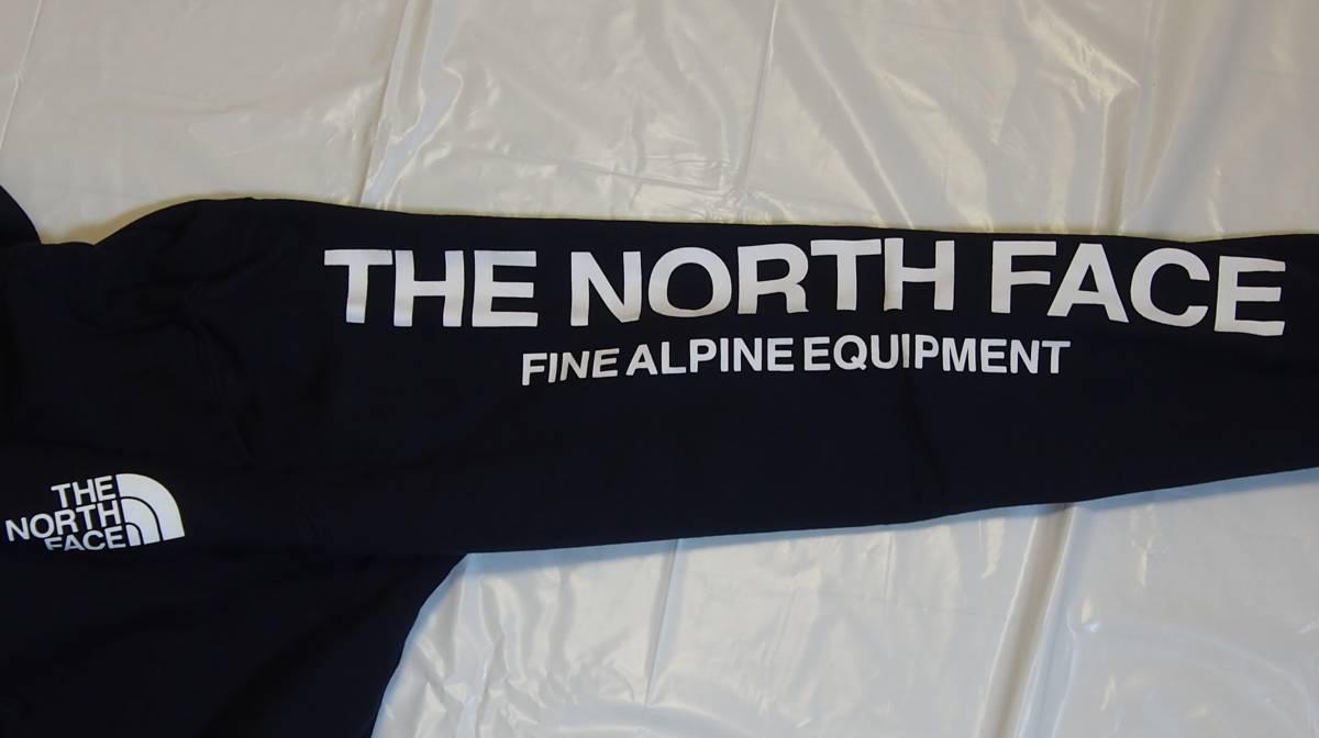 【USA購入、未使用タグ付】ノースフェイス フルジップパーカー L ネイビー The North Face Brand Proud Full Zip Hoodie_画像5