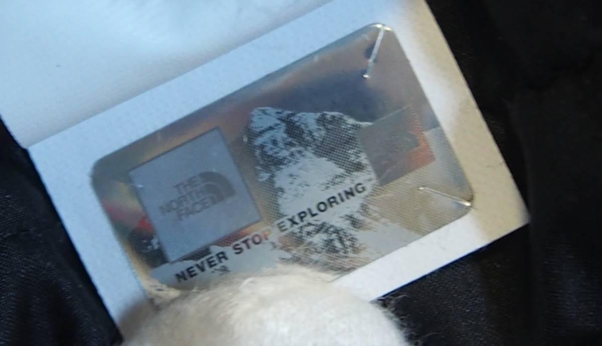 【USA購入、未使用タグ付】ノースフェイス レディース ダウンジャケット ロング丈 S ブラック The North Face Acropolis Parka_画像9