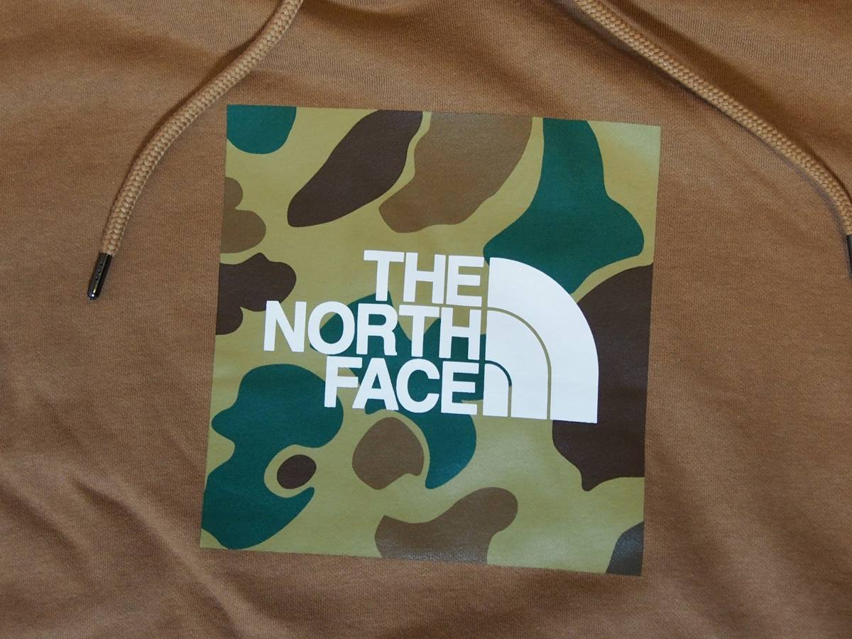 【USA購入、未使用タグ付】ノースフェイス メンズ パーカー Mサイズ ブラウン The North Face Boxed In Pullover Hoodie_画像2