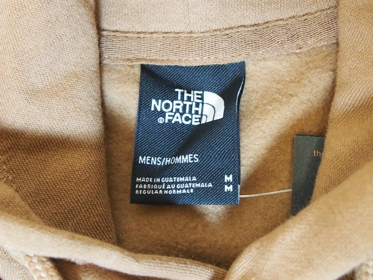 【USA購入、未使用タグ付】ノースフェイス メンズ パーカー Mサイズ ブラウン The North Face Boxed In Pullover Hoodie_画像4