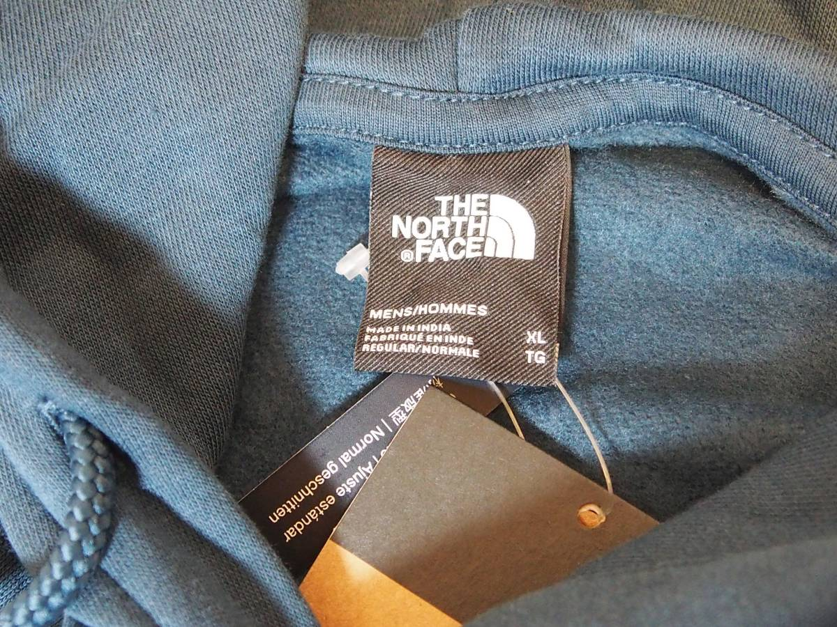 【USA購入、未使用タグ付】ノースフェイス パーカー XL ブルー系 The North Face Himalayan Bottle Source Pullover Hoodie_画像7