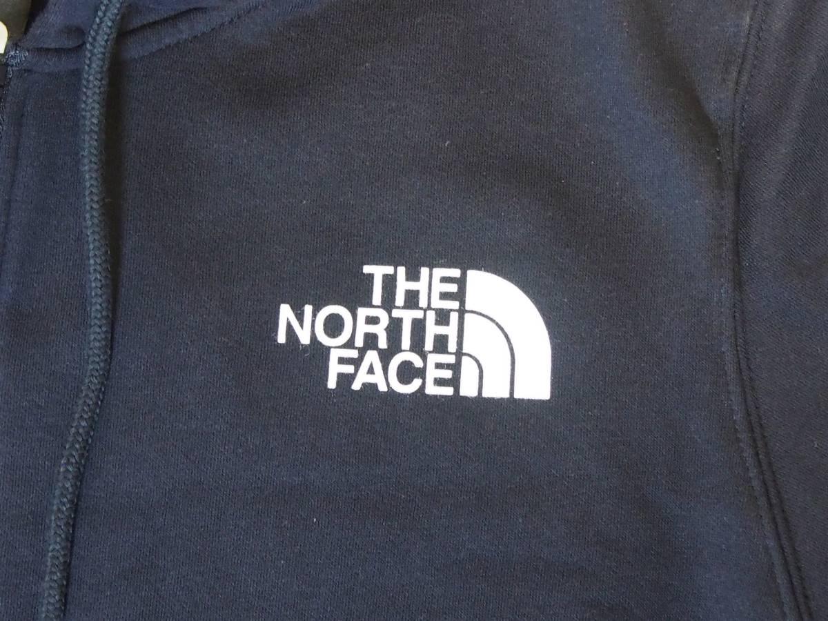 【USA購入、未使用タグ付】ノースフェイス フルジップパーカー L ネイビー The North Face Brand Proud Full Zip Hoodie_画像2
