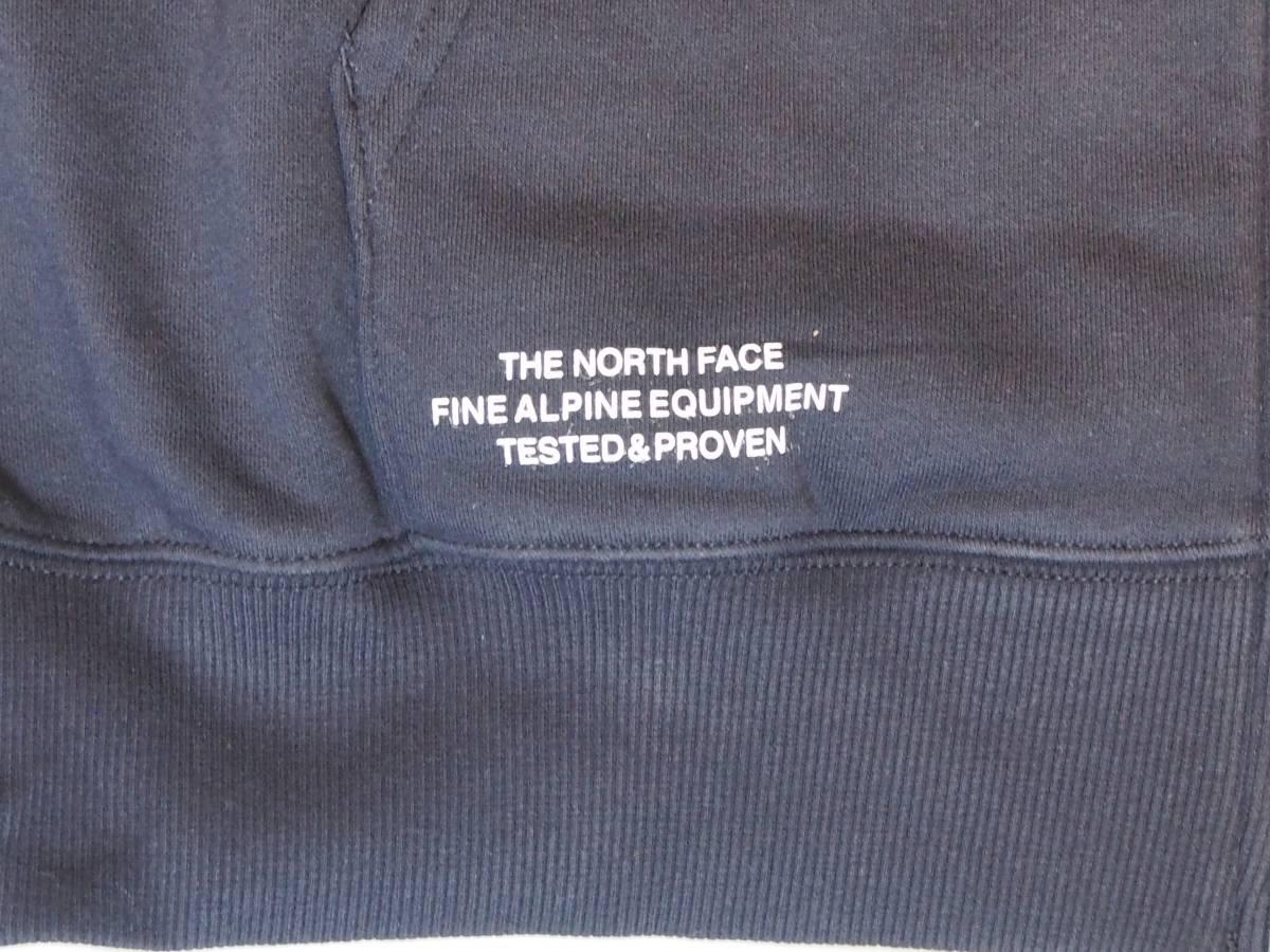 【USA購入、未使用タグ付】ノースフェイス フルジップパーカー L ネイビー The North Face Brand Proud Full Zip Hoodie_画像4