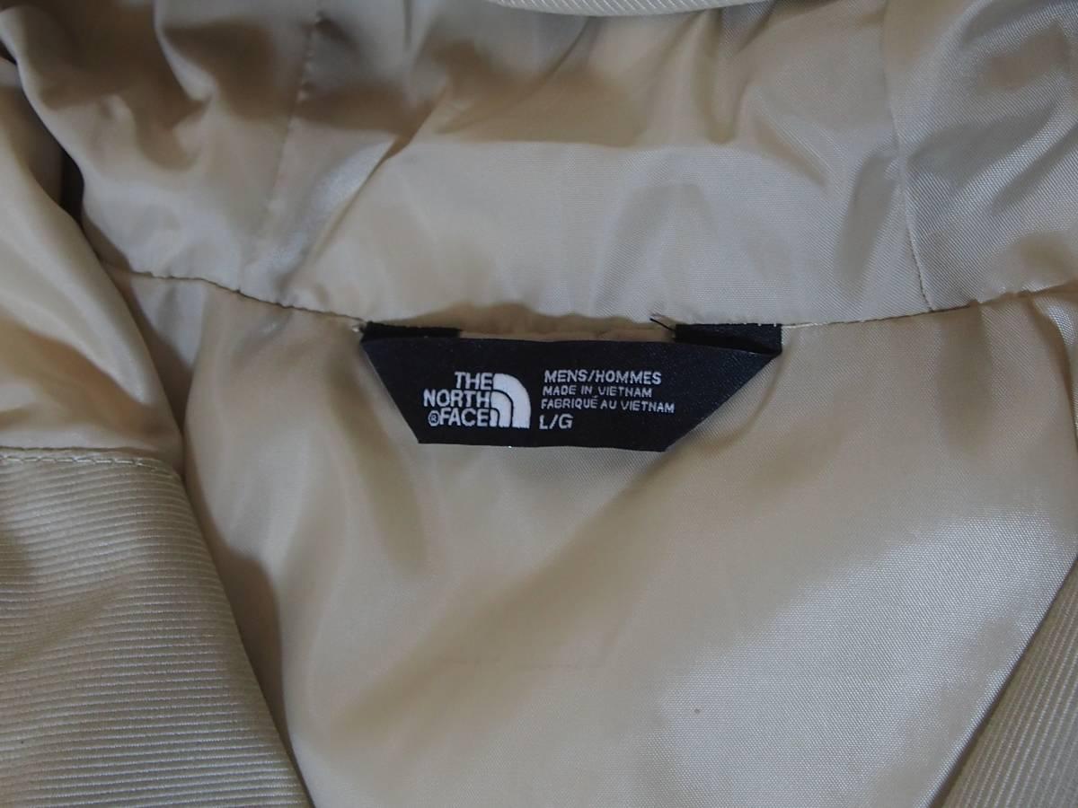 【USA購入、未使用タグ付】ノースフェイス ミラートン ジャケット Lサイズ ベージュ The North Face Millerton Jacket_画像7