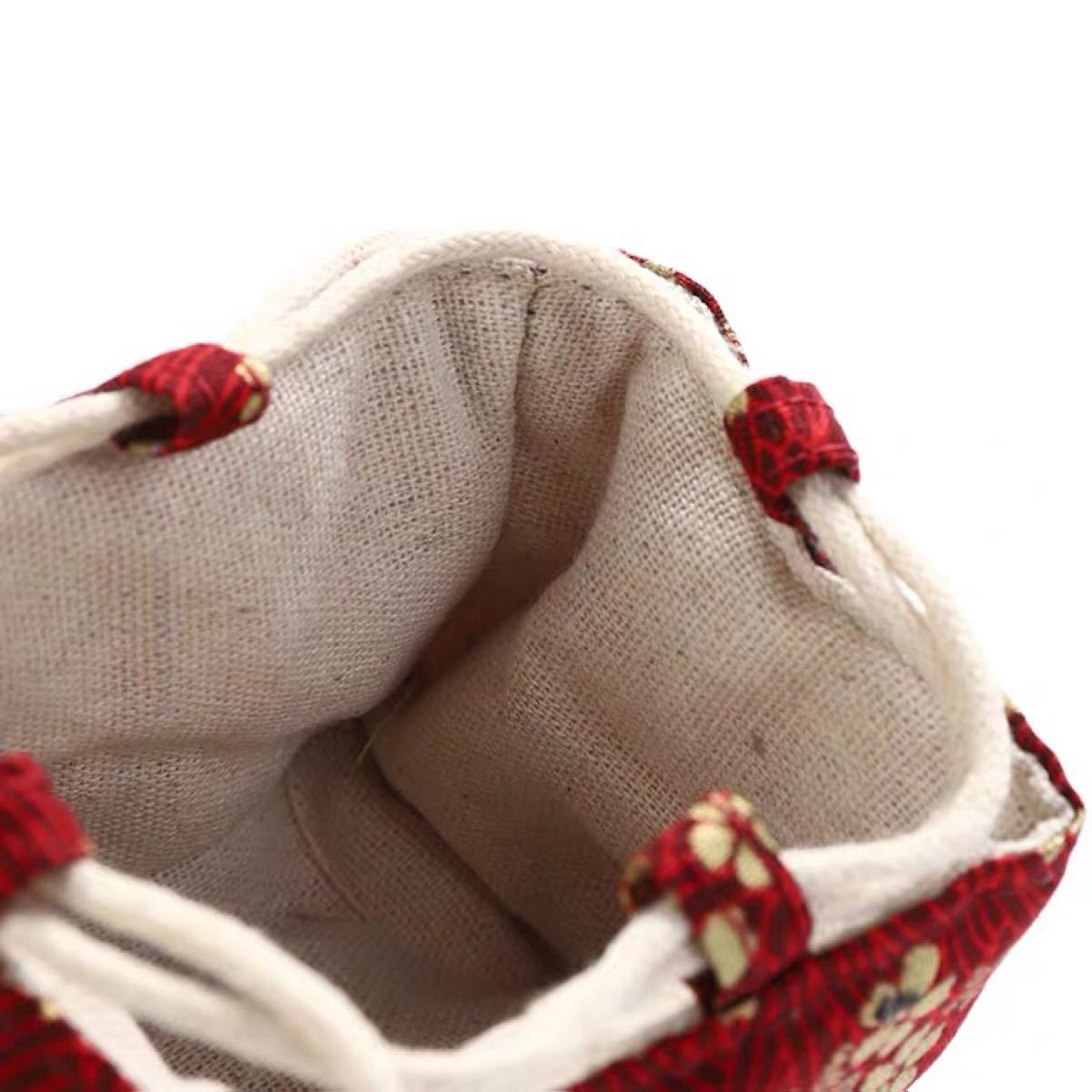 ポーチ 小物入れ 和柄 バッグ お着物のハンドバッグ 和風 巾着 化粧ポーチ