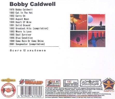 BOBBY CALDWELL★ボビー・コールドウェル★AOR★アルバム12枚★mp3CD★送料無料_画像2