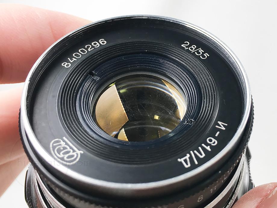手頃なロシアンレンズ インダスター61 L/D【分解清掃済み・撮影チェック済み】 Industar-61 L/D 55mm F2.8 L39_画像7