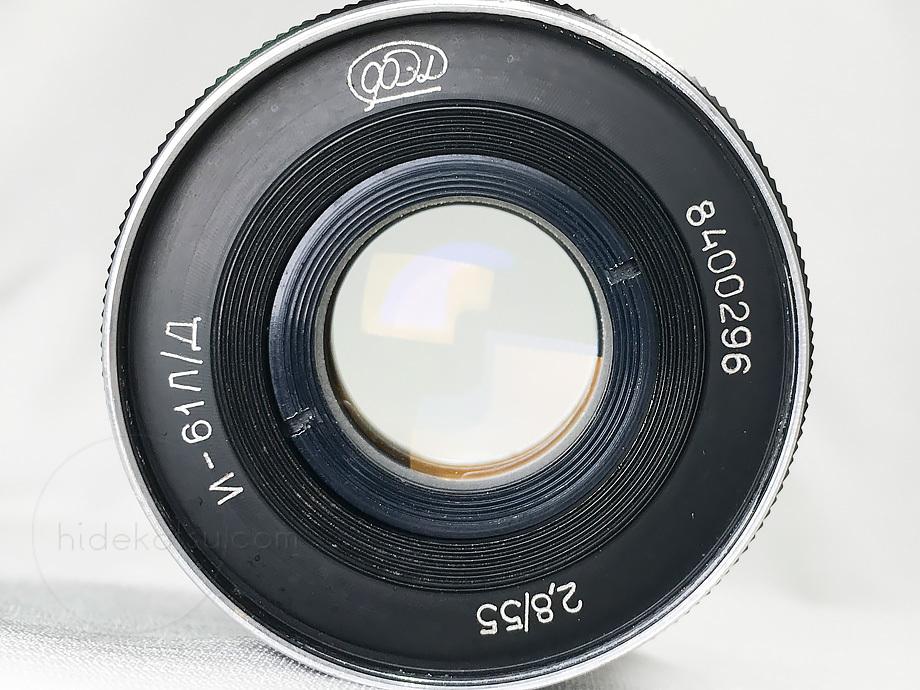 手頃なロシアンレンズ インダスター61 L/D【分解清掃済み・撮影チェック済み】 Industar-61 L/D 55mm F2.8 L39_画像6