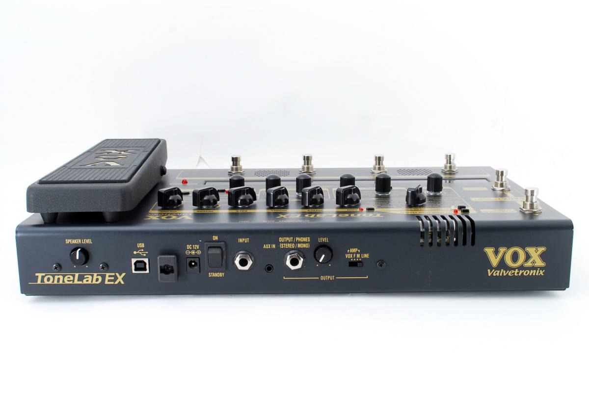 VOX ボックス Tonelab EX マルチエフェクター ACアダプタ付 [美品] #727293_画像5