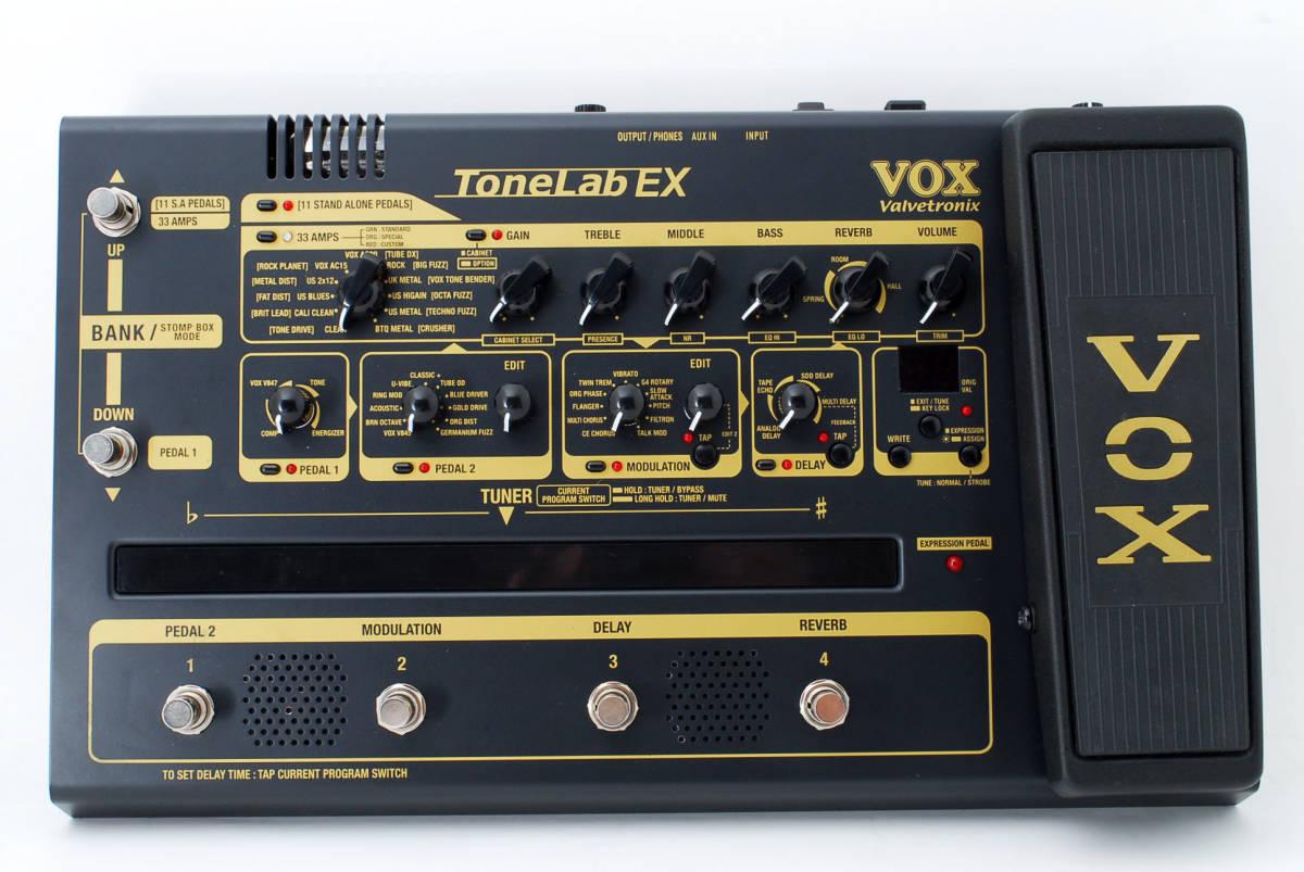 VOX ボックス Tonelab EX マルチエフェクター ACアダプタ付 [美品] #727293_画像6