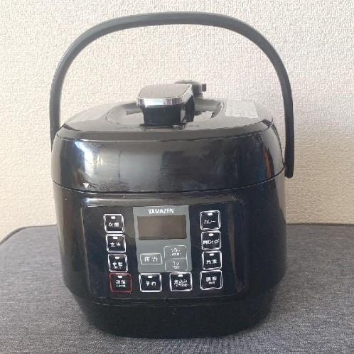 マイコン電気圧力鍋  ブラック