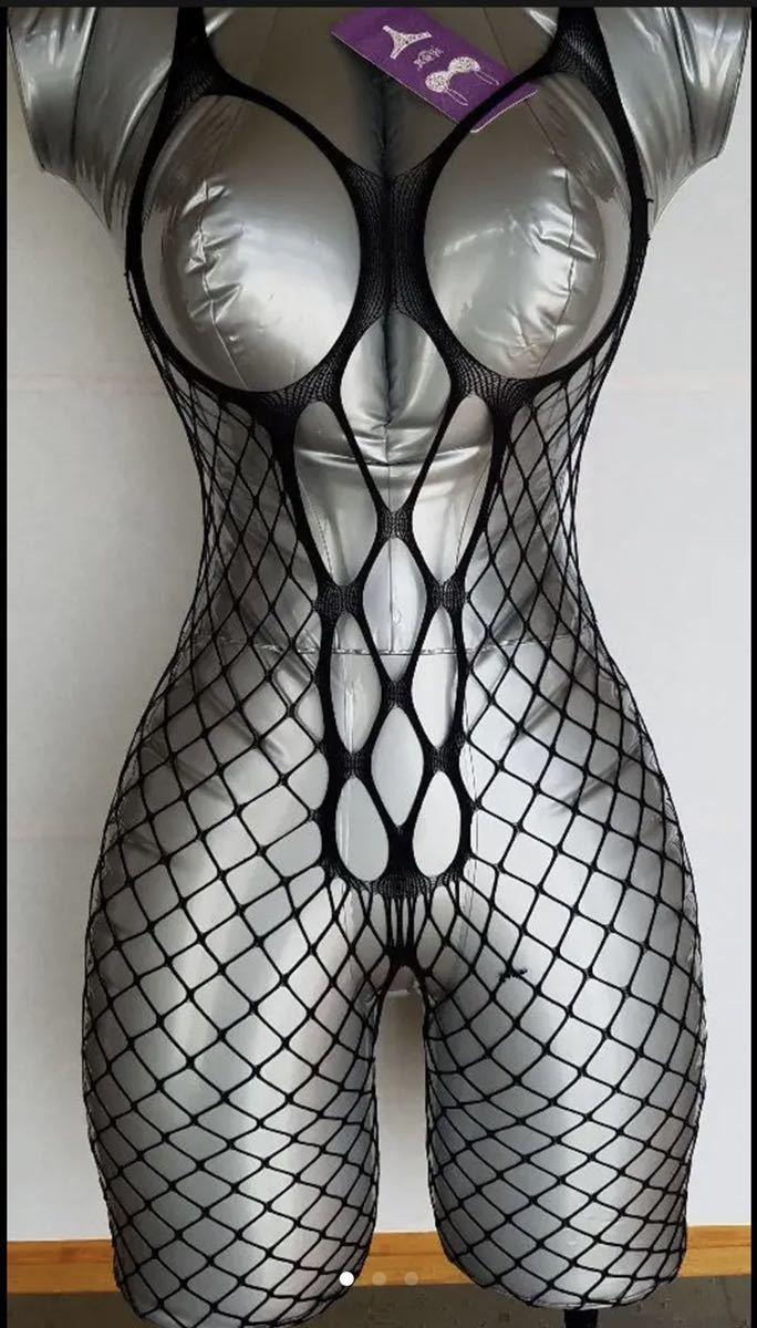 ボディストッキング オープンクロッチ ボディタイツ 全身タイツ セクシーランジェリー コスプレ衣装 sexy 誘惑エロ過激な_画像6