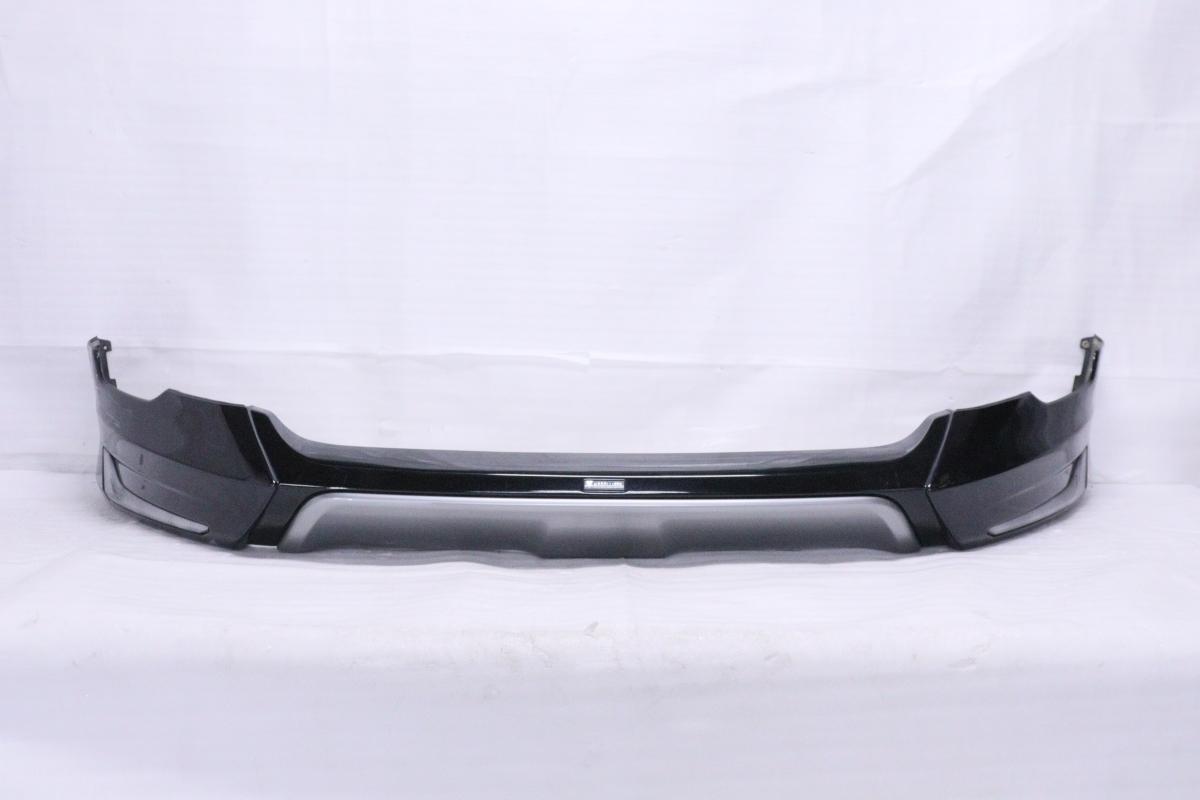 2122137★モデリスタ★前期 ZSU60W ハリアー HV フロントスポイラー Ver.2 ブラックパール 220 ASU60W AVU65W 補修用★トヨタ (UK)_画像1
