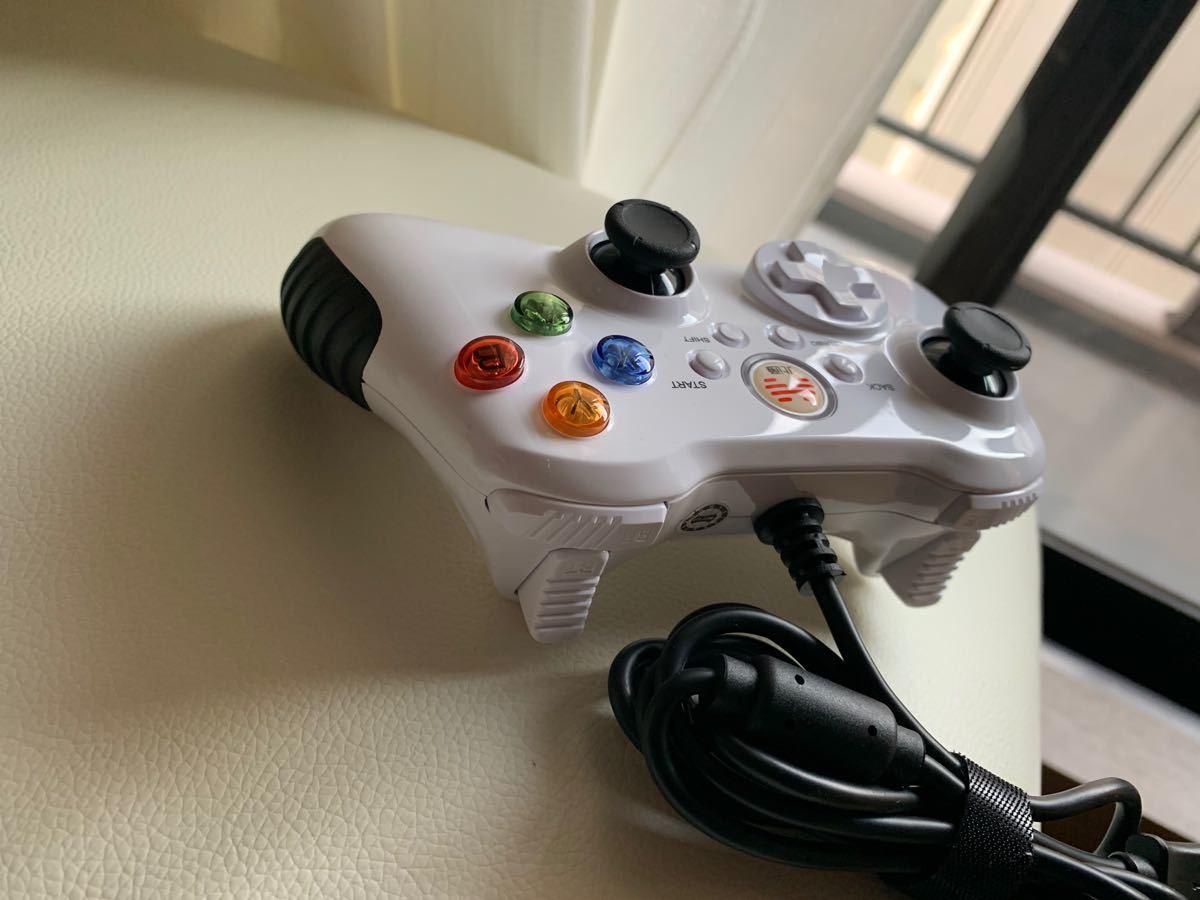 PC用 ゲームコントローラー 有線 USB