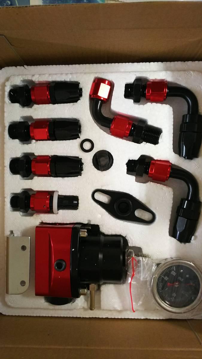 汎用 燃圧 レギュレータ セット フエル レギュレーター _画像1